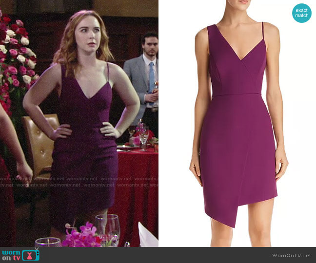 Bcbgmaxazria Micaila Dress worn by Mariah Copeland (Camryn Grimes) on The Young & the Restless