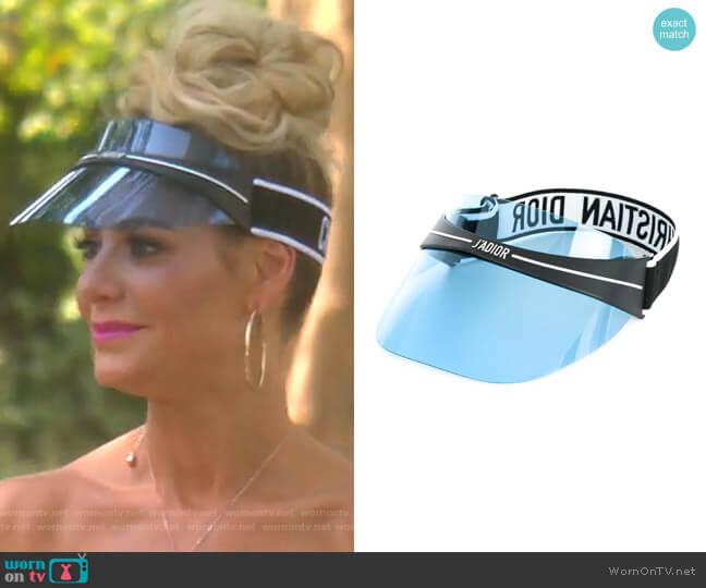 DiorClub1 visor by Christian Dior worn by Dorit Kemsley  on The Real Housewives of Beverly Hills