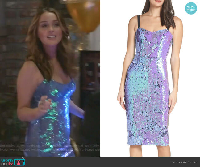 Lynda Dress by Dress The Population worn by Jo Wilson (Camilla Luddington) on Greys Anatomy