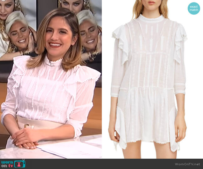 Alba Dress by Isabel Marant Etoile worn by Erin Lim  on E! News