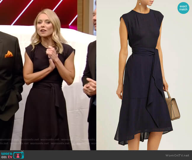 Freya Dress by Cefinn worn by Kelly Ripa (Kelly Ripa) on Live with Kelly & Ryan
