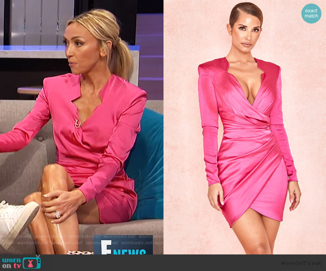 'NELINHA' Dress by House of CB worn by Giuliana Rancic  on E! News