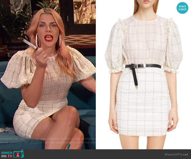 Adelaide Dress by Isabel Marant worn by Busy Philipps  on Busy Tonight