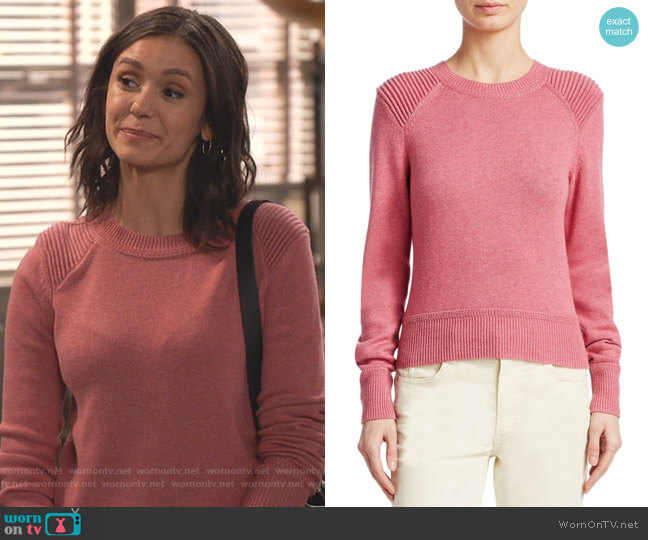 Kleeza Sweater by Isabel Marant Etoile worn by Clem (Nina Dobrev) on Fam