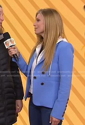 Jill's blue blazer on Today