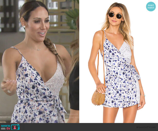 Maria Romper by L*Space worn by Melissa Gorga (Melissa Gorga) on The Real Housewives of New Jersey