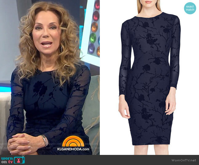 Floral Mesh Dress by Lauren Ralph Lauren worn by Kathie Lee Gifford  on Today