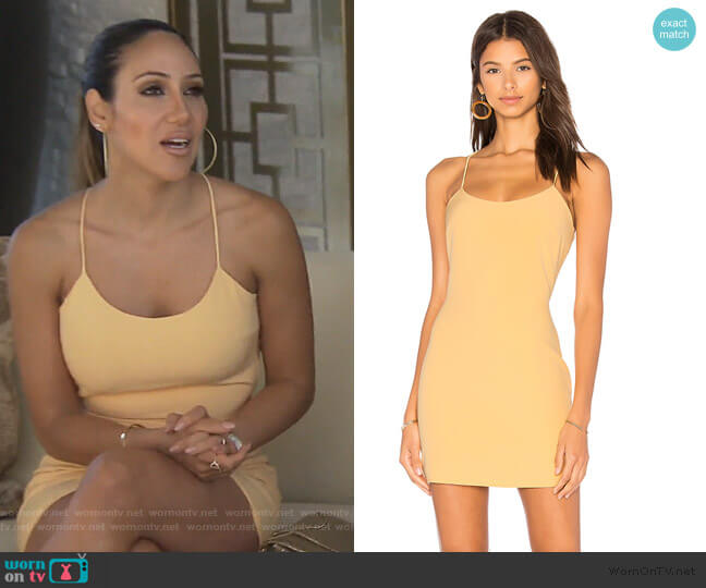 Aria Mini Dress by NBD worn by Melissa Gorga  on The Real Housewives of New Jersey