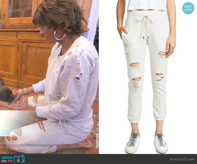 Sayde Sweatpants by NSF worn by Lisa Rinna  on The Real Housewives of Beverly Hills