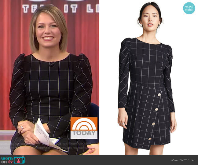 Upton Dress by Shoshanna worn by Dylan Dreyer  on Today