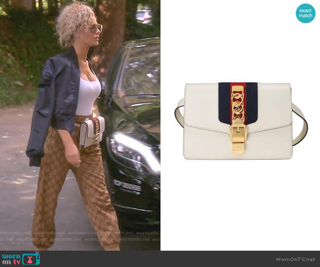 Sylvie Belt Bag by Gucci worn by Dorit Kemsley (Dorit Kemsley) on The Real Housewives of Beverly Hills