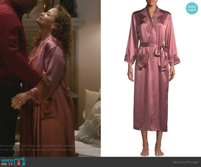 Katiuscia Robe by Vivis worn by Catherine Avery (Debbie Allen) on Greys Anatomy
