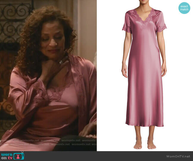 Krizia Nightgown by Vivis worn by Catherine Avery (Debbie Allen) on Greys Anatomy