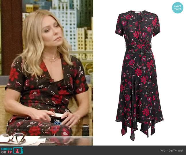 A.L.C. Cora Dress worn by Kelly Ripa (Kelly Ripa) on Live with Kelly & Ryan