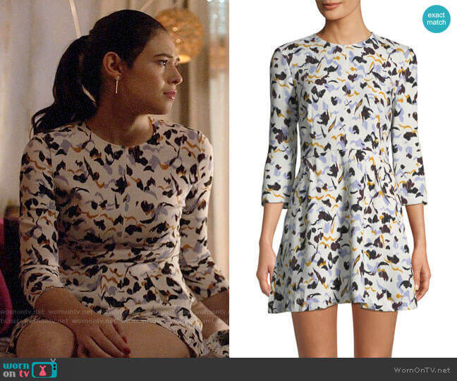 A.L.C. Terry Dress worn by Nia Nal (Nicole Maines) on Supergirl