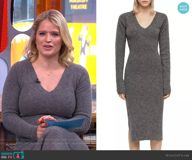 Sedona Dress by All Saints worn by Sara Haines  on Good Morning America