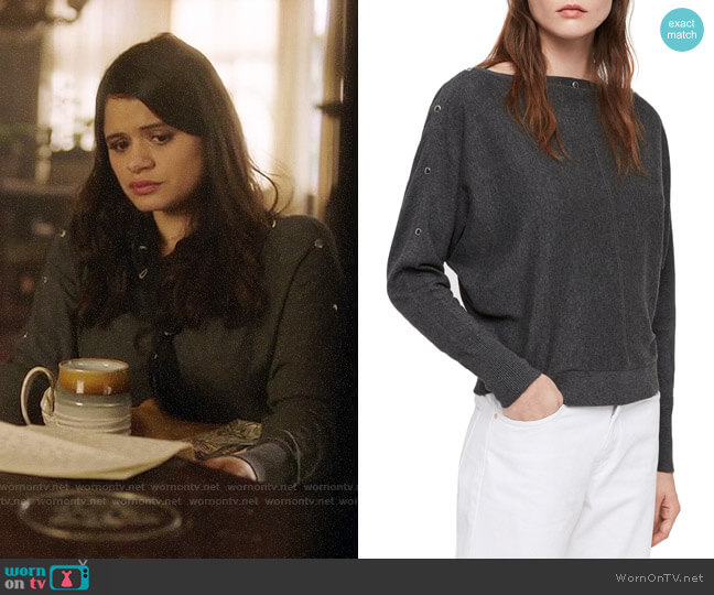 All Saints Elle Sweater worn by Mel Vera (Melonie Diaz) on Charmed