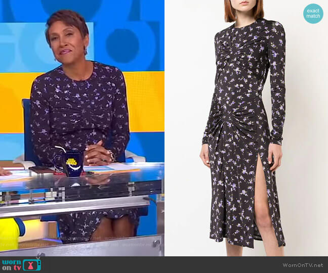 Maria Teresa Dress by Altuzarra worn by Robin Roberts  on Good Morning America