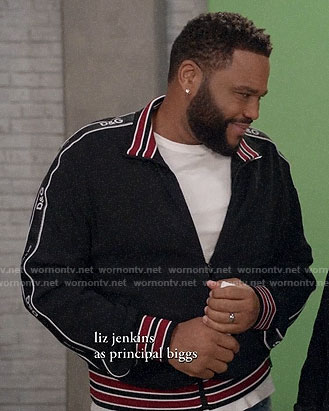 Andre's D&G jacket on Black-ish