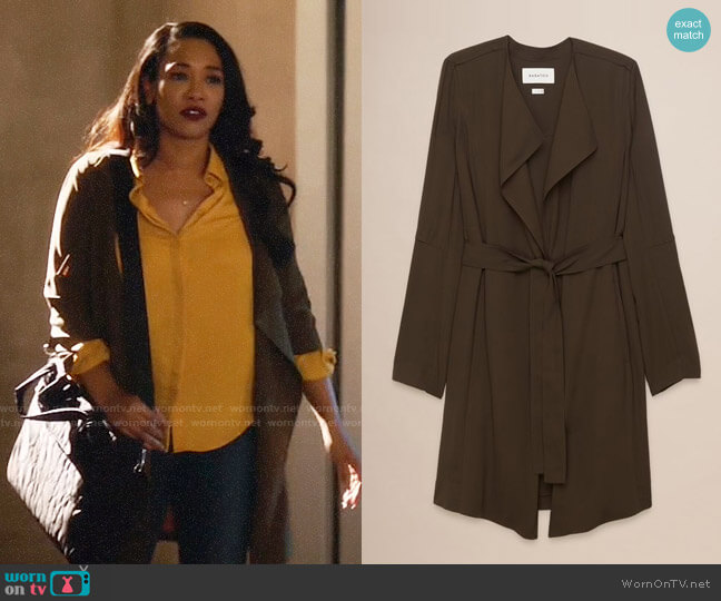 Babaton Quincey Jacket worn by Iris West (Candice Patton) on The Flash