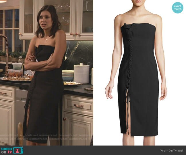 Charlotte Dress by Cinq a Sept worn by Clem (Nina Dobrev) on Fam