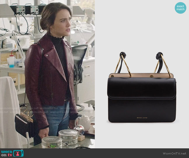 Danse Lente Mia Accordion Bag worn by Cara Bloom (Violett Beane) on God Friended Me