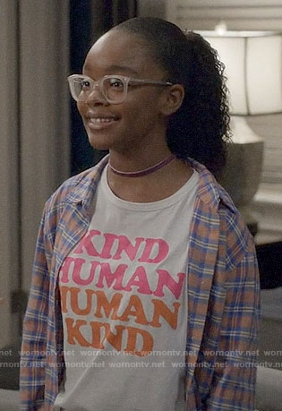 Diane's Kind Human t-shirt on Black-ish