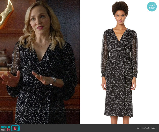 Escada Dlessa Dress worn by Marissa Morgan (Geneva Carr) on Bull