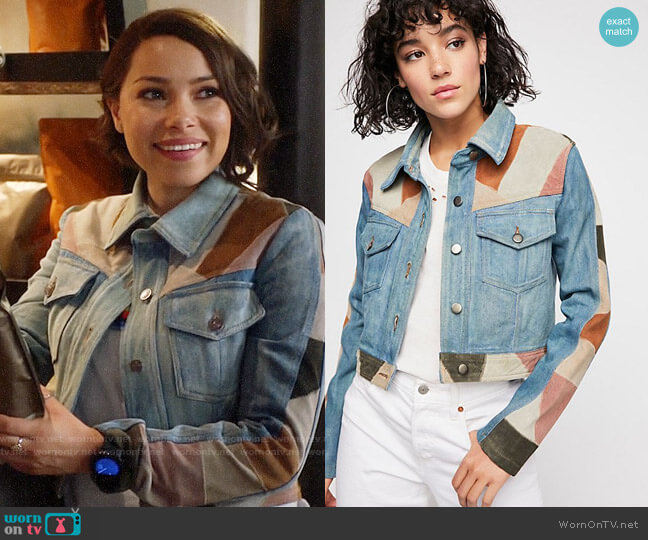 Free People Dallas Jacket worn by Nora West-Allen (Jessica Parker Kennedy) on The Flash