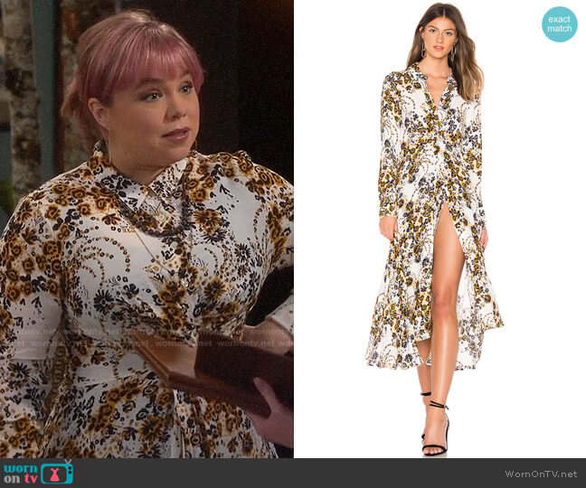 Free People Tough Love Dress worn by Kristin Baxter (Amanda Fuller) on Last Man Standing
