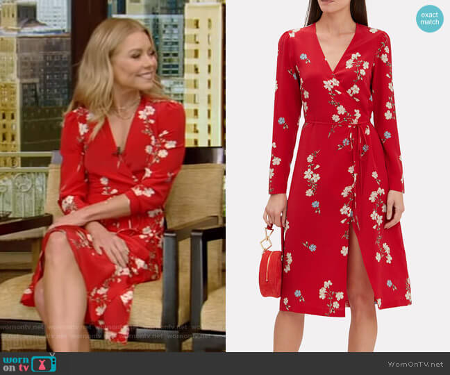 Ottavia Dress by Intermix worn by Kelly Ripa  on Live with Kelly & Ryan
