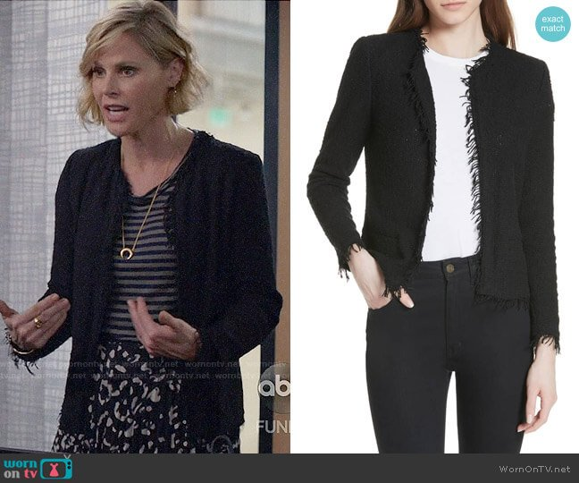 IRO Shavani Jacket worn by Claire Dunphy (Julie Bowen) on Modern Family