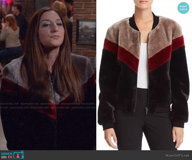 Joie Vesna Jacket worn by Gina Linetti (Chelsea Peretti) on Brooklyn Nine-Nine