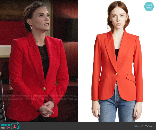 L'Agence Chamberlain Blazer worn by Phyllis Newman (Gina Tognoni) on The Young & the Restless