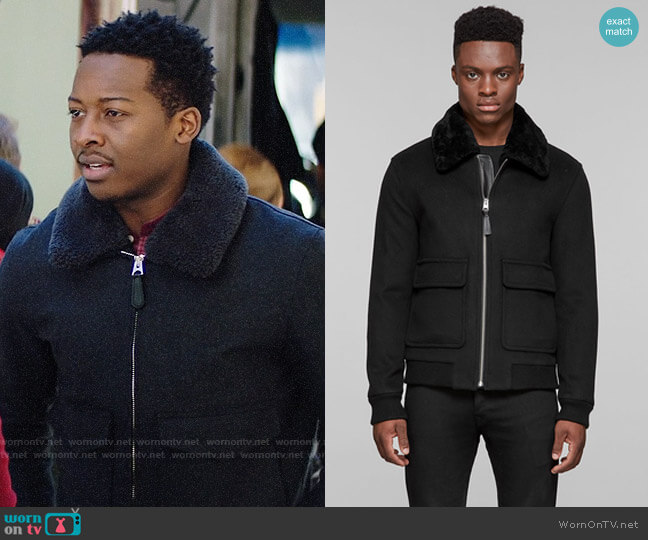 Mackage Aeron Jacket worn by Miles Finer (Brandon Micheal Hall) on God Friended Me