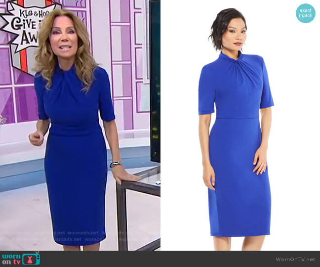 Grace Dress by Maggy London worn by Kathie Lee Gifford  on Today