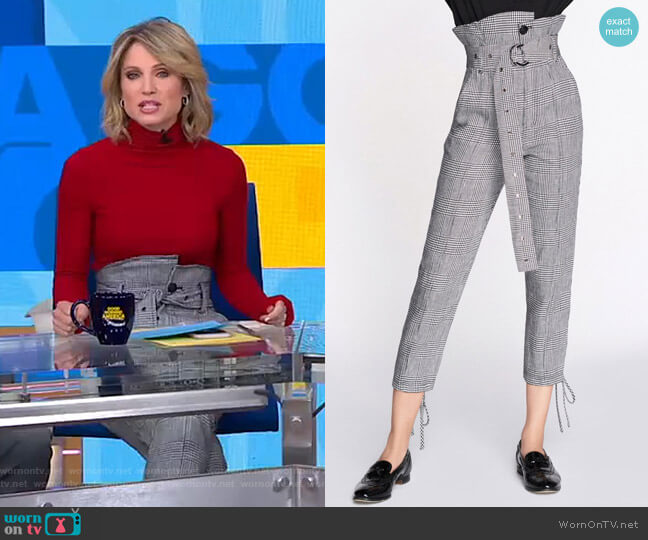 Isadora Pants by Marissa Webb worn by Amy Robach (Amy Robach) on Good Morning America