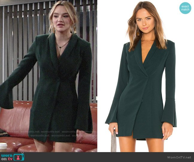 NBD Como La Flor worn by Summer Newman (Hunter King) on The Young & the Restless