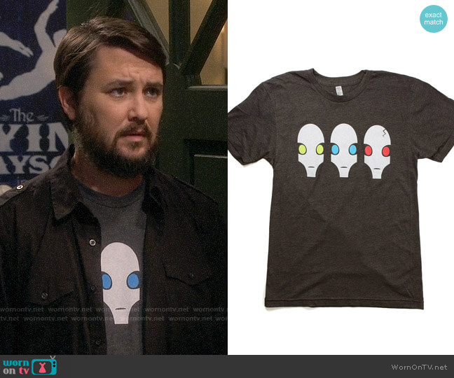 Penny Aracde Swangee T-shirt worn by Wil Wheaton on The Big Bang Theory