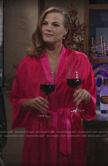 Phyllis's Valentines Day lingerie on The Young and the Restless