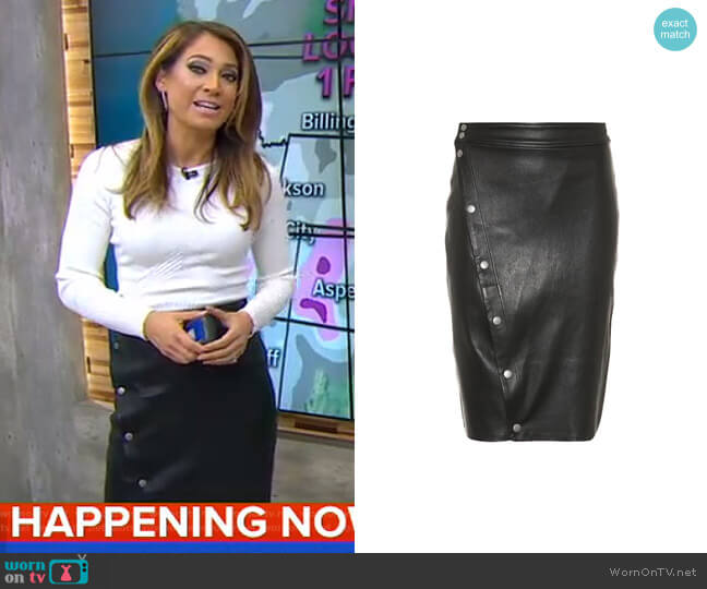 Baha Skirt by Rag & Bone worn by Ginger Zee  on Good Morning America