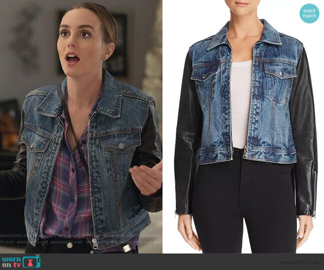 Nico Jacket by Rag & Bone worn by Angie (Leighton Meester) on Single Parents
