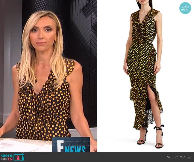 Anita Dress by Saloni worn by Giuliana Rancic  on E! News