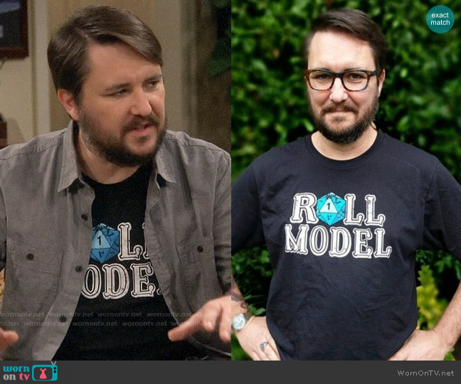Stands Wil Wheaton Roll Models T-shirt