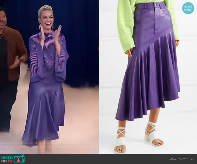 Noe Skirt by Solace London worn by Katy Perry on Good Morning America