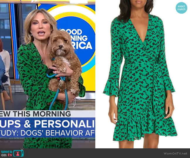 Nomi Dress by Tanya Taylor worn by Amy Robach  on Good Morning America