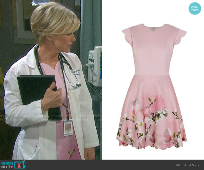 Ted Baker Grettae Dress worn by Kayla Brady (Mary Beth Evans) on Days of our Lives