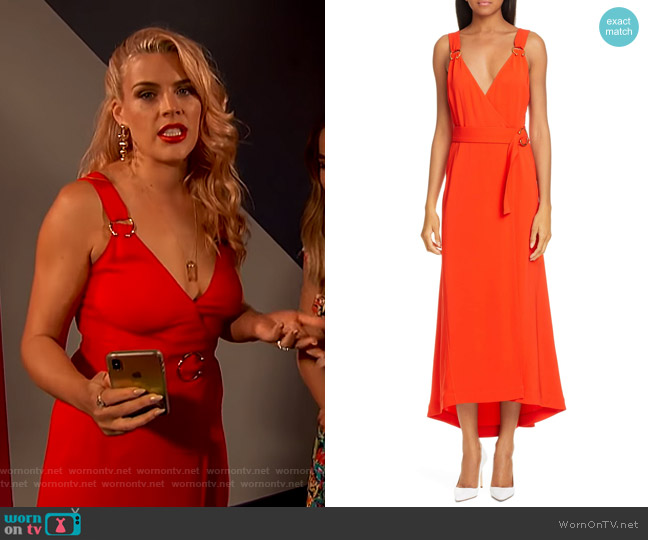 Haley Dress by A.L.C. worn by Busy Philipps  on Busy Tonight