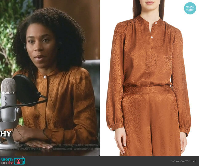 Owens Top by A.L.C worn by Maggie Pierce (Kelly McCreary) on Greys Anatomy