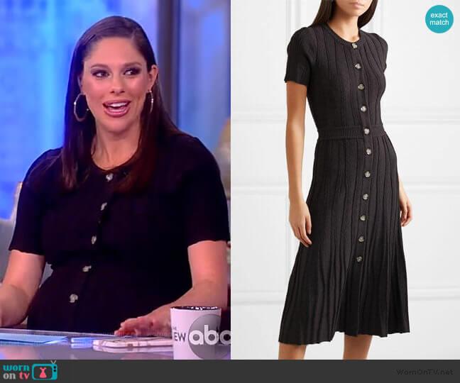 Abelia Dress by Altuzarra worn by Abby Huntsman  on The View